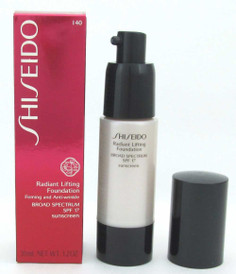 Shiseido Radiant Lifting Foundation I40 Natural Fair Ivory 30 ml NIB