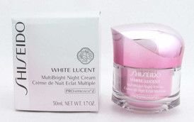 Shiseido White Lucent MultiBright Night Cream 1.7 oz / 50 ml *Damaged Box