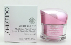 Shiseido White Lucent MultiBright Night Cream 1.7 oz / 50 ml New In Box