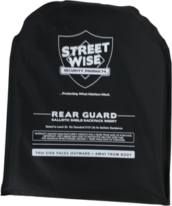 Streetwise 8x10 Rear Guard Ballistic Shield Backpack Insert