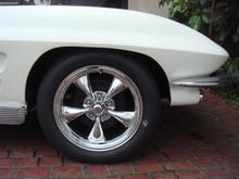 63 - 67 Corvette American Racing Wheels Polished