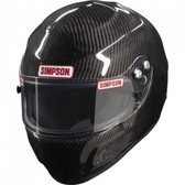 Simpson Carbon Devil Ray Helmet