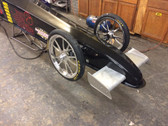 Racecraft Alum. Front Canard Wings and Mount