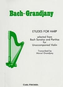 Bach/Grandjany: Etudes for Harp