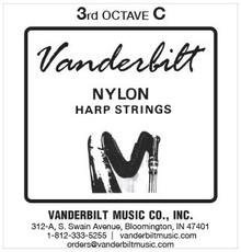 Vanderbilt Nylon, 3rd Octave C (Red)