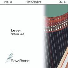 Lever Gut, 1st Octave D