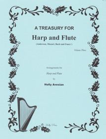 Avesian: A Treasury for Harp and Flute Vol. 3