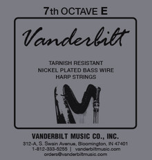 Vanderbilt Tarnish-Resistant 7th Octave E
