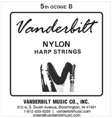 Vanderbilt Nylon, 5th Octave B