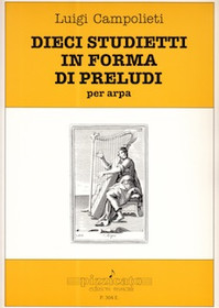 Dieci Studietti in Forma di Preludi per Arpa, Luigi Campolieti