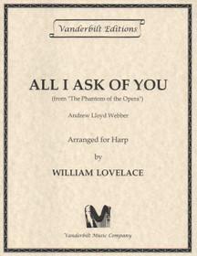 All I Ask of You, Webber/Lovelace