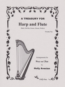 Avesian: A Treasury for Harp and Flute Vol. 2