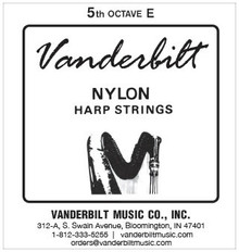 Vanderbilt Nylon, 5th Octave E