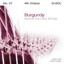 Burgundy 4th Octave G