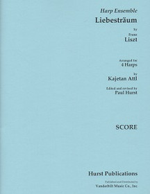 Liszt/Attl, Liebestraum for 4 harps