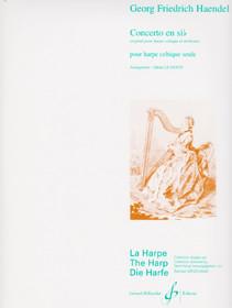 Haendel/LeDentu, Concerto in B-flat (Lever Harp Harp)