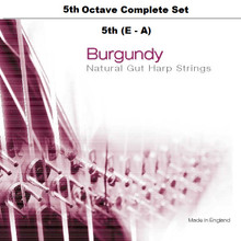 Burgundy, 5th Octave Set (E-A)