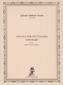 Amon: Sonata for Flute and Harp