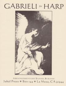 Gabrieli/Burton: Gabrieli for Harp