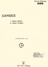 Debussy: Danses (harp/piano reduction)