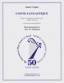 Caplet: Conte Fantastique (Piano Reduction)