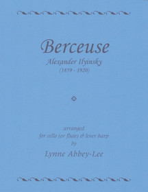Ilyinsky/Abbey-Lee, Berceuse (Vc/Fl & Lever hp)