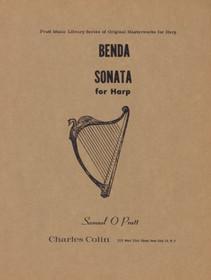 Benda Sonata for Harp, Samuel O Pratt