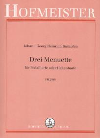 Drei Menuette, Johann Georg Heinrich Backofen