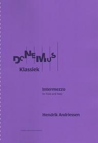 Andriessen: Intermezzo (fl/hp)
