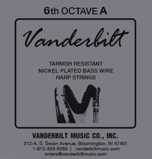 Vanderbilt Tarnish-Resistant 6th octave A