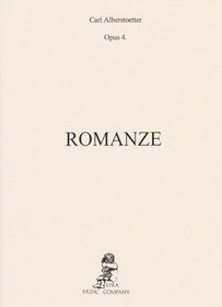Alberstoetter: Romanze, Op. 4 For Harp Solo