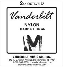 Vanderbilt Nylon, 2nd Octave D