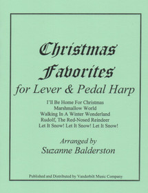 Balderston, Suzane: Christmas Favorites for Lever or Pedal Harp
