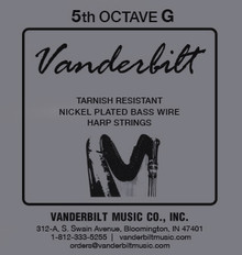 Vanderbilt Tarnish-Resistant 5th octave G