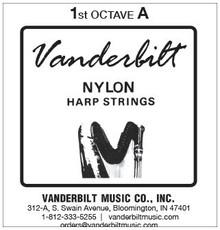 Vanderbilt Nylon, 1st Octave A