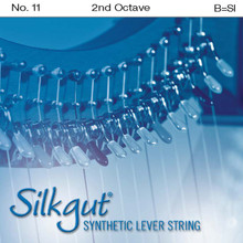 Silkgut Synthetic Lever String, 3rd Octave B