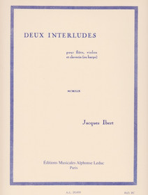 Ibert, Two Interludes