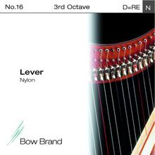 Lever Nylon String, 3rd Octave D