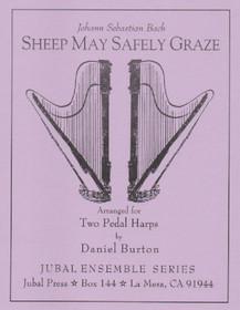 Bach JS/Burton: Sheep May Safely Graze (2 harps)