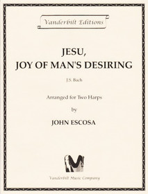 Bach/Escosa: Jesu, Joy of Man's Desiring (2 harps)