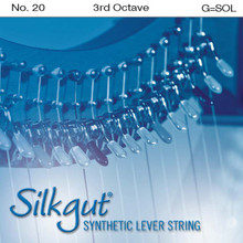 Silkgut Synthetic Lever String, 3rd Octave G