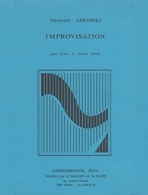 Abremski: Improvisation (fl/hp)
