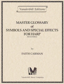 Carman: Master Glossary of Symbols and Special Effects For Harp