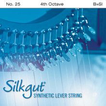 Silkgut Synthetic Lever String, 4th Octave B