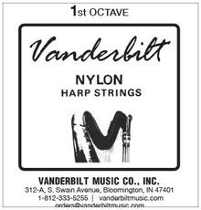 Vanderbilt Nylon, 1st Octave Complete (9 strings)