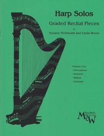 McDonald/Wood: Harp Solos Graded Recital Pieces Vol.2