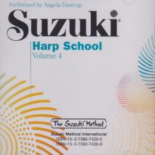 Suzuki Harp School, Volume 4 (CD)