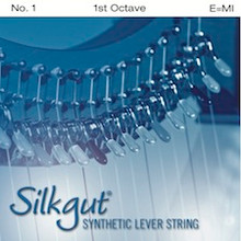 Silkgut Synthetic Lever String, 1st Octave E