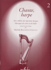 Chante, harpe 2, Michele Beaumont-Chollet