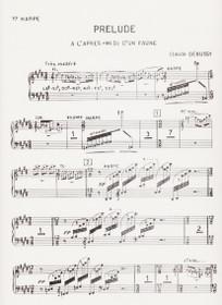 Debussy, Prelude a l'apre-midi d'un faune Hp 1